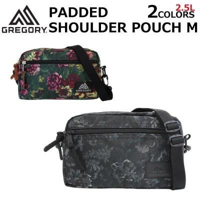 GREGORY グレゴリー PADDED SHOULDER POUCH M パデッドショルダーポーチ M ショルダーバッグ ミニバッグ バッグ ポーチ レディース メンズ 2.5L 65388