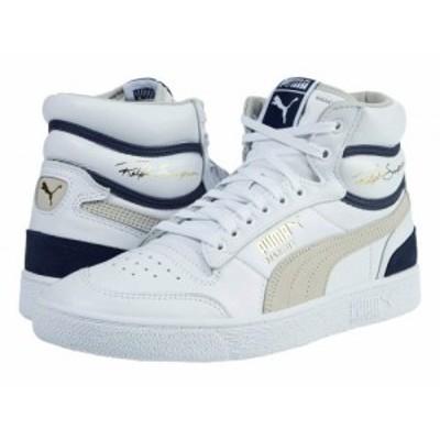 PUMA プーマ メンズ 男性用 シューズ 靴 スニーカー 運動靴 Ralph Sampson Mid OG Puma White/Gray Violet/Peacoat【送料無料】