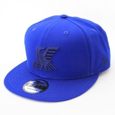 ニューエラ NEWERA 帽子 9FIFTY サッカー日本代表 Ver. ヤタガラス ブルー