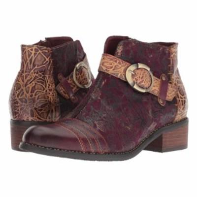 スプリングステップ LArtiste by Spring Step レディース ブーツ シューズ・靴 Georgiana Purple Multi