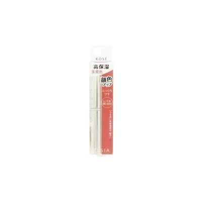 コーセー エルシア プラチナム 顔色アップ エッセンスルージュ レッド系 RD484 (3.5g) 口紅