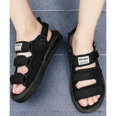 サンダル F&D : Triple Strap Sandals