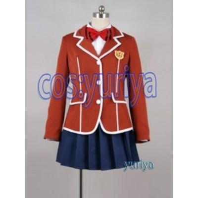 ギルティクラウン 楪いのり(ゆずりはいのり)制服 コスプレ衣装