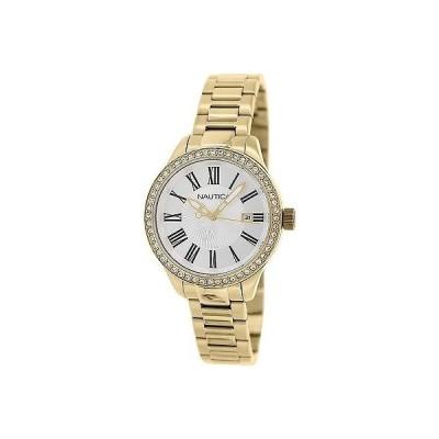 腕時計 ノーティカ Nautica レディース Bfd 101 N16661M ゴールド ステンレス-スチール クォーツ 腕時計
