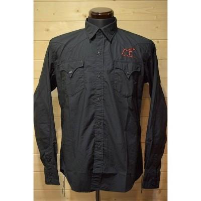 ミスターフリーダム Mr.Freedom SC28085 MFSC BROAD CLOTH DUDE カスタムシャツ ブラック