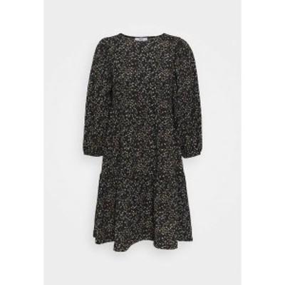 オンリー プティ レディース ワンピース トップス ONLSARA ZILLE DRESS - Day dress - black black