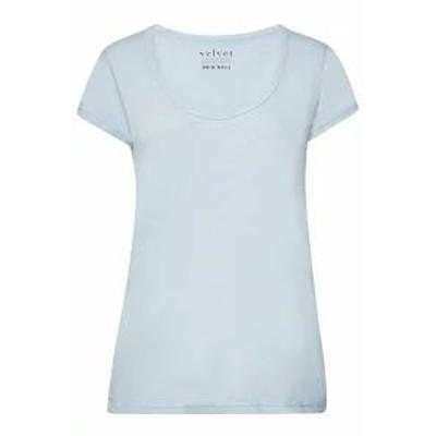 Velvet レディーストップス Velvet Kira Cotton T-Shirt