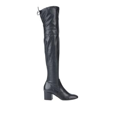 NILA & NILA ブーツ ブラック 37 牛革(カーフ) / 紡績繊維 ブーツ