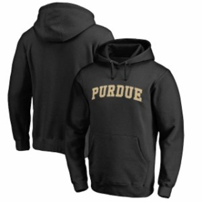 Fanatics Branded ファナティクス ブランド スポーツ用品  Fanatics Branded Purdue Boilermakers Black Everyday Pull