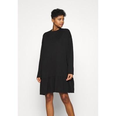ウィークデイ ワンピース レディース トップス ERINA DRESS - Day dress - black