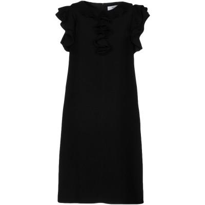 ブルーガール ブルマリン BLUGIRL BLUMARINE ミニワンピース&ドレス ブラック 42 100% ポリエステル ミニワンピース&ドレス