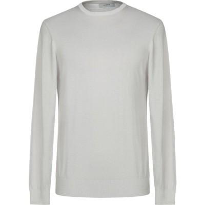 アルファス テューディオ ALPHA STUDIO メンズ ニット・セーター トップス sweater Light grey