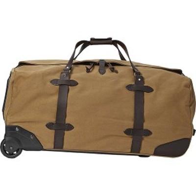 フィルソン メンズ スーツケース バッグ Filson Large Rolling Duffle Bag Tan