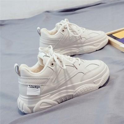 スニーカー レディース 白スニーカー フラットソール シンプル カジュアル ローカット 運動靴 スポーツシューズ ファッション