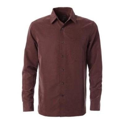ロイヤルロビンズ メンズ シャツ トップス Desert Pucker Dry Long Sleeve Shirt Fudge