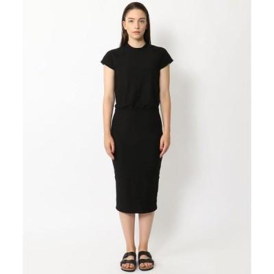 【JAMES PERSE】コットンジャージー Tシャツドレス WVD6474