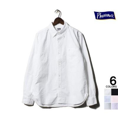 フェローズ PHERROW'S ボタンダウン シャツ PBD1 オックスフォード BDシャツ (PBD1)