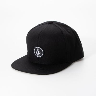 ボルコム VOLCOM Quarter Snap Back Hat (BLK)