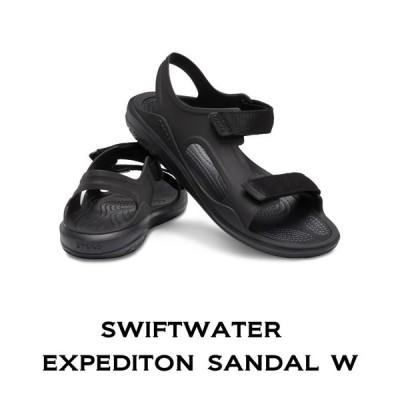 【クロックス crocs レディース】swiftwater expediton sandal w/スウィフトウォーター エクスペディション サンダル ウィメン/アウトドア/キャンプ