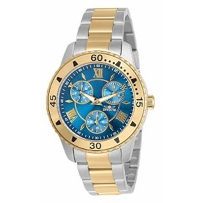 腕時計 インヴィクタ インビクタ Invicta Angel Lady 38mm Stainless Steel Stainless Steel Blue dial