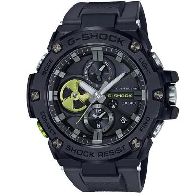 CASIO カシオ 腕時計 海外モデル GST-B100B-1A3 メンズ G-SHOCK Gショック G-STEEL Gスチール Bluetooth対応 タフソーラー