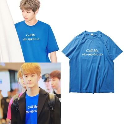 670大人気!NCT127 U MARK 同じデザイン WANNA ONE Daniel半袖Tシャツ 韓国ファッション tシャツ  男女兼用  トップス 韓国