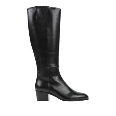 ジュゼッペ・ザノッティ・デザイン GIUSEPPE ZANOTTI ブーツ ブラック 38.5 革 ブーツ