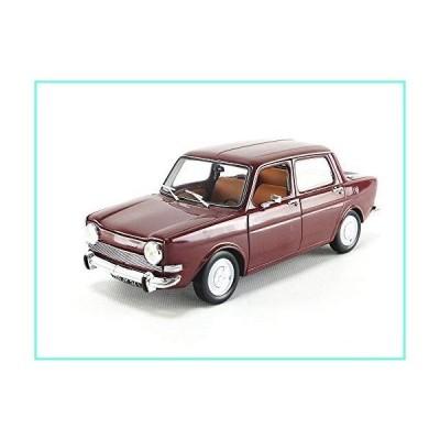 Norev 1974 Simca 1000 LS Amarante Red 1/18 Diecast Model Car 185713並行輸入品