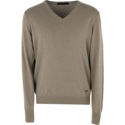 リウジョー LIU JO MAN メンズ ニット・セーター トップス sweater Military green