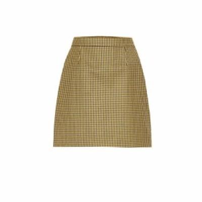 ラシル Racil レディース ミニスカート スカート Gina wool miniskirt Tuscan Sun Gingham