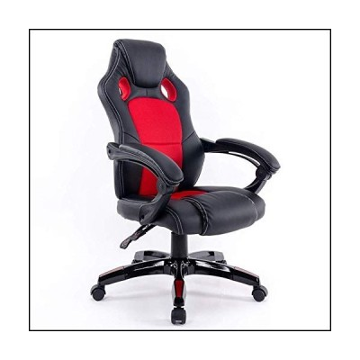 WYNZYYX Gaming Chair Office Racing Style Chair Ergonomic Backrest and Seat Recliner with Headrest and Lumbar Comfortable Chair (Color : E)