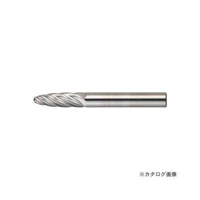 TRUSCO 超硬バー 砲弾型 Φ6X刃長19X軸6 アルミカット TA3C060