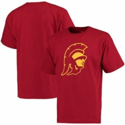 289c Apparel 289アパレル スポーツ用品  USC Trojans Cardinal Trojan Head T-Shirt -