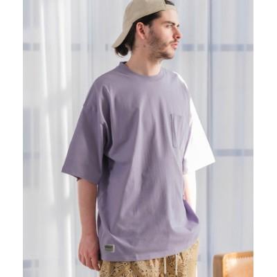 SIDEWAY STANCE サイドウェイスタンス ピスネーム ビッグシルエット ポケットTシャツ