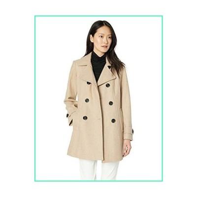 Anne Klein Women's Classic Double Breasted Coat, Oathr, XSmall並行輸入品