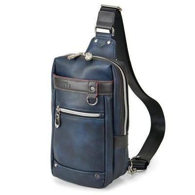ウノフク:BAGGEX ギャラン ワンショルダーバッグS ネイビーブルー 13-6098-80