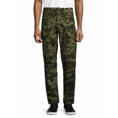 G-スター メンズ パンツ Recroft Camouflage Cargo Pants