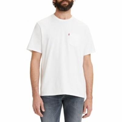 リーバイス LEVIS メンズ Tシャツ ポケット トップス Relaxed Fit Pocket T-Shirt White