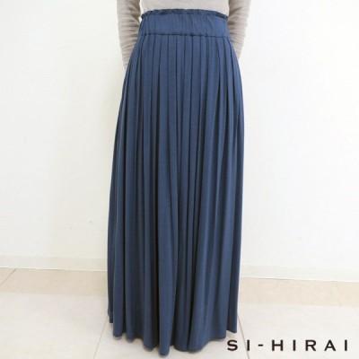 SI-HIRAI ジャージ素材マキシスカート