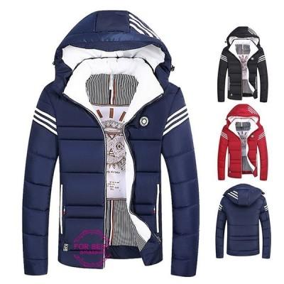 ダウンジャケット メンズ ジャケット 中綿ジャケット 切り替え 冬アウター 中綿 防風 防寒着