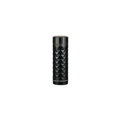 パール金属 カフェマグ 軽量ダイヤカットマグボトル 350ml  ブラック HB-2902