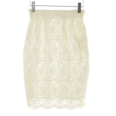 ROPE PICNIC / ロペ ピクニック ケミカルレースタックタイト スカート