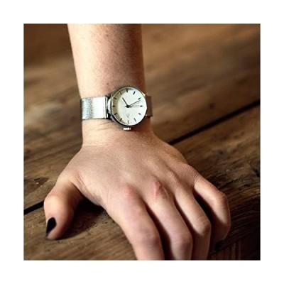CHPO シーエイチピーオー 腕時計 チーポ NANDO SILVER メタル メッシュベルト 40mm 14232BB メンズ レディース