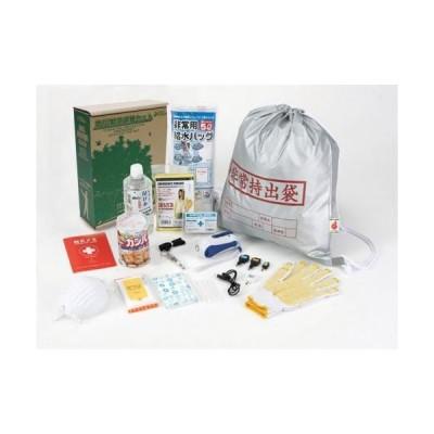 高森コーキ 本棚に保管できる防災緊急避難13点セット DFK-100(送料無料)