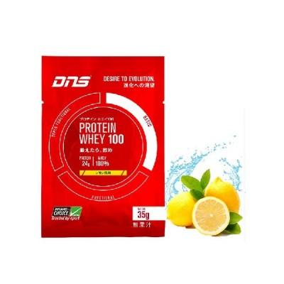 DNS プロテインホエイ100 レモン 35g×10袋 化粧箱なし ポスト投函 ◆