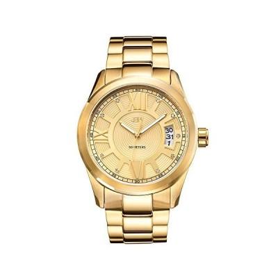 JBW Luxury Men's Bond Diamond Wrist Watch with Stainless Steel Link Bracelet 並行輸入品