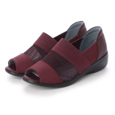 パンジー Pansy レディース 短靴 婦人オープントゥシューズ PS4482