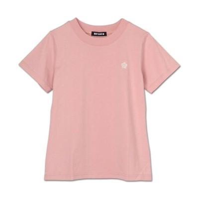 (MARY QUANT/マリークヮント)フロントデイジーエンブロ Tシャツ/レディース ピンク