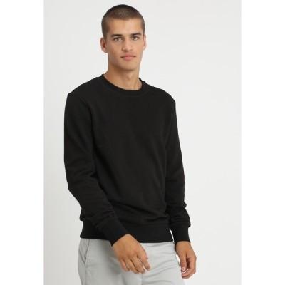 ジャック アンド ジョーンズ パーカー・スウェットシャツ メンズ アウター Sweatshirt - black
