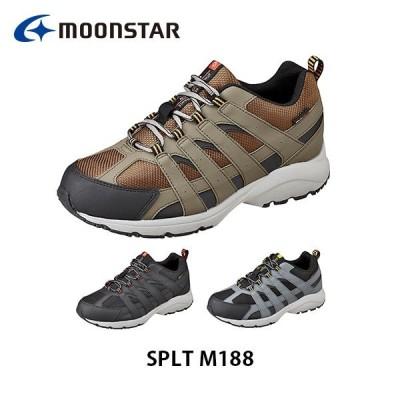 ムーンスター メンズ シューズ スニーカー SPLT M188 ワイド設計 ふわピタ中敷 防水設計 靴 5E 男性用 月星 MOONSTAR SPLTM188